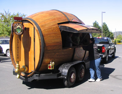 Deschutes Beer Wagon