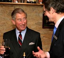 Prince Charles visit Wychwood