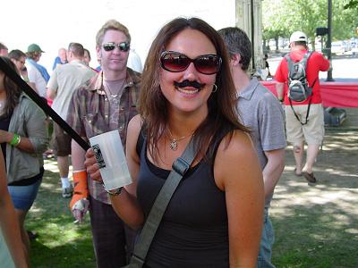 Mustache Sally