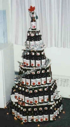 Molson Christmas Tree