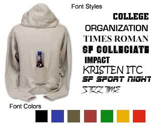 Beer Hoodie Fonts & Colors
