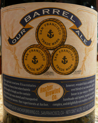 Anchor's Our Barrel Ale