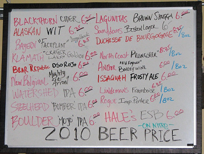 2010 Prices