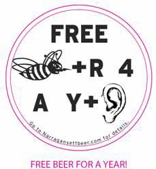 Free Beer Coaster