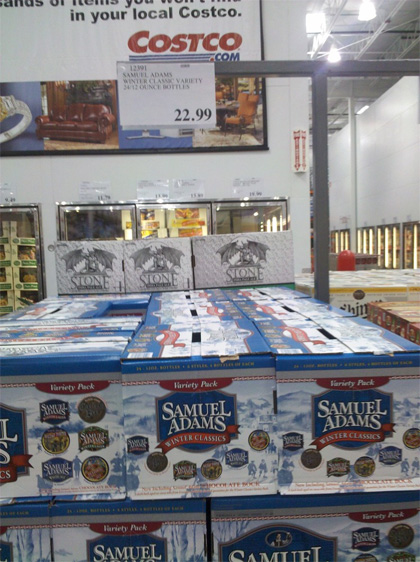 Samuel Adams Holiday Pack at Costco