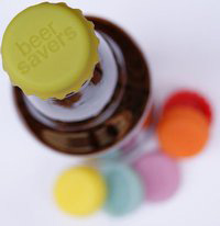 Silicon Bottle Cap Charms for Beer Bottles