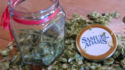 Samuel Adams Hoppy Valentine's Day basket