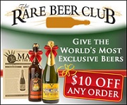 $10 off Rare Beer Club order