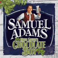 Samuel Adams chocolate box made for beer drinkers