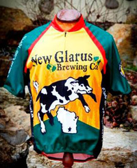 New Glarus Brewing bicycle jersey